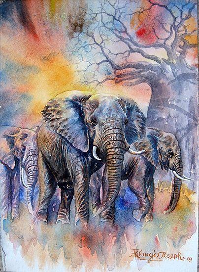 Thiongo - Elephants in Tanzania.jpg (404×550)