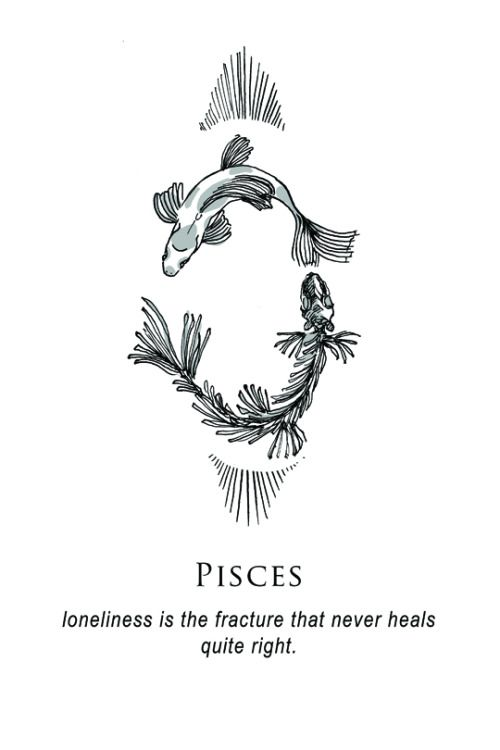 shitty horoscopes by musterni illustrates on tumblr tattoo pinterest horoscopes pisces. Black Bedroom Furniture Sets. Home Design Ideas