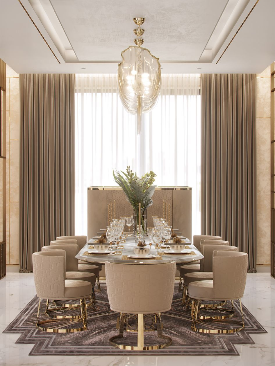 Siangabari Luxury Dining Room Decor Interior Design Dining Room Dining Room Interiors