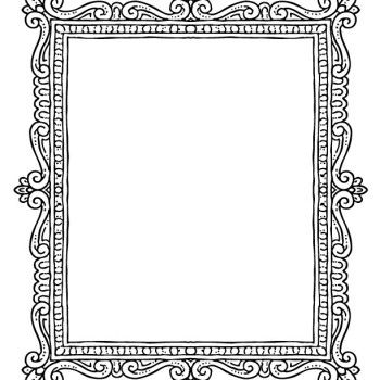 Frame 2 Coloring Book Free Printable Coloring Pages Picture Frame Template Printable Frames