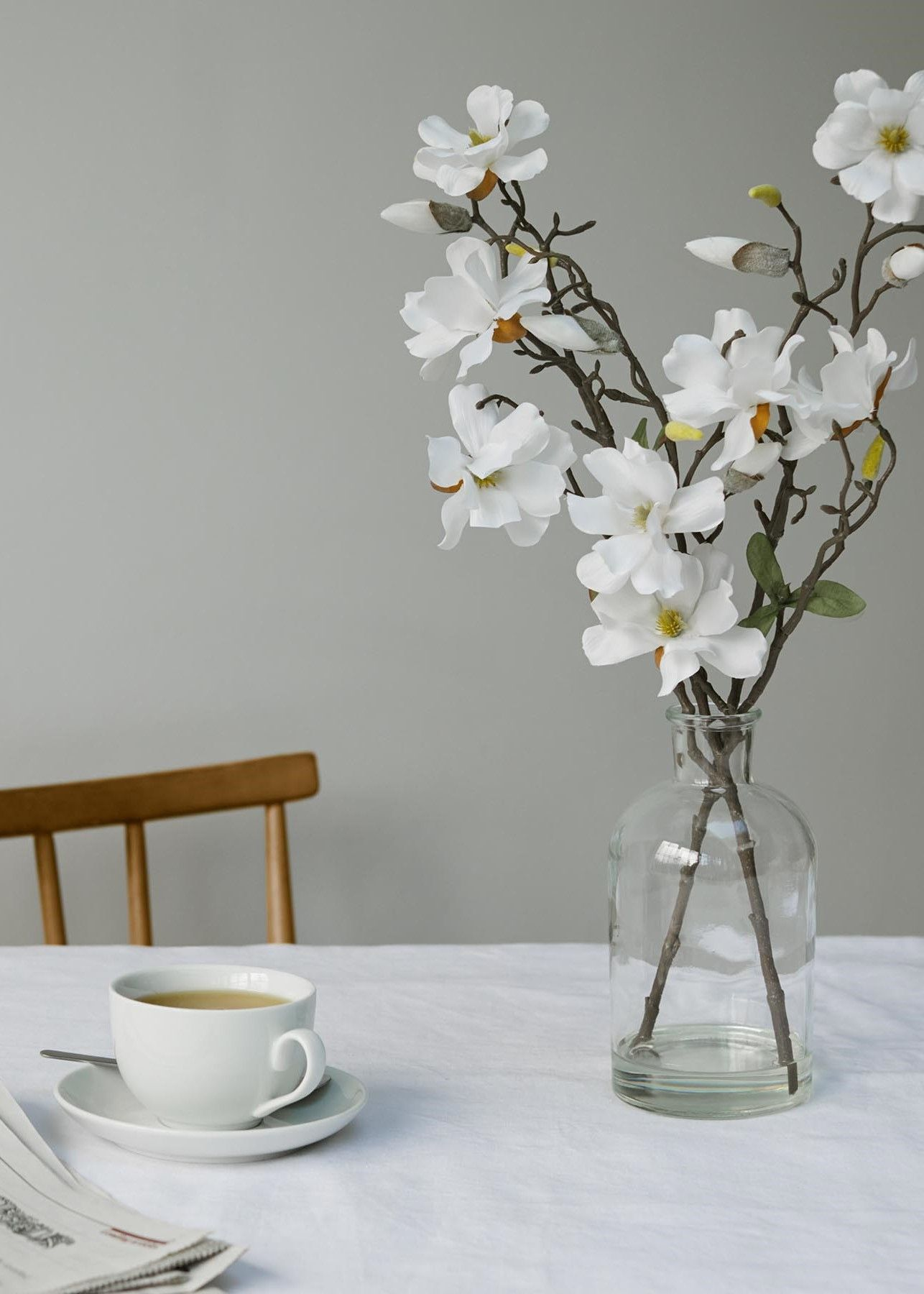 An Evergreen Centerpiece Is What Every Dining Table Needs All In