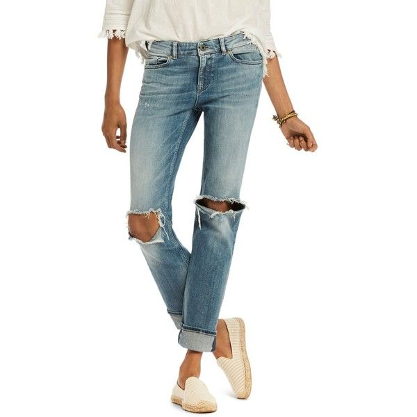2715ca185c3 Scotch   Soda Supreme Distressed Straight Jeans in Beach Bandits ( 175) ❤  liked on
