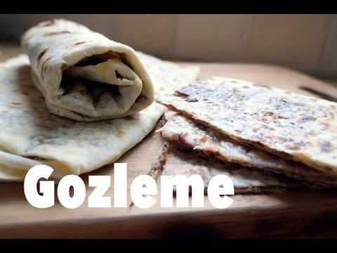 Turkish flat bread filled with spicy ground beef gzleme turkish turkish flat bread filled with spicy ground beef gzleme turkish food youtube forumfinder Choice Image