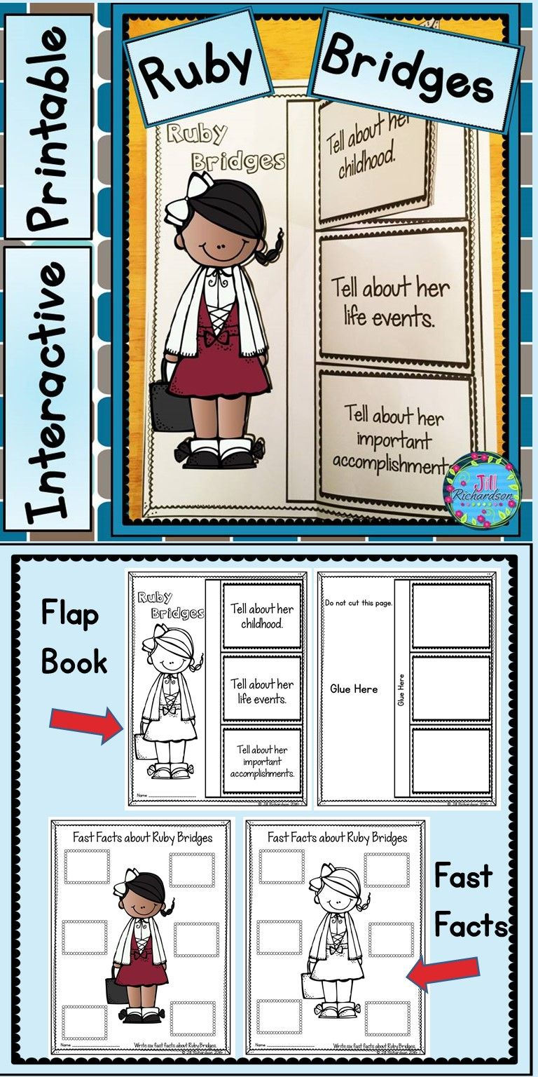 worksheet Ruby Bridges Worksheets For Second Grade ruby bridges writing great black history month activity activity