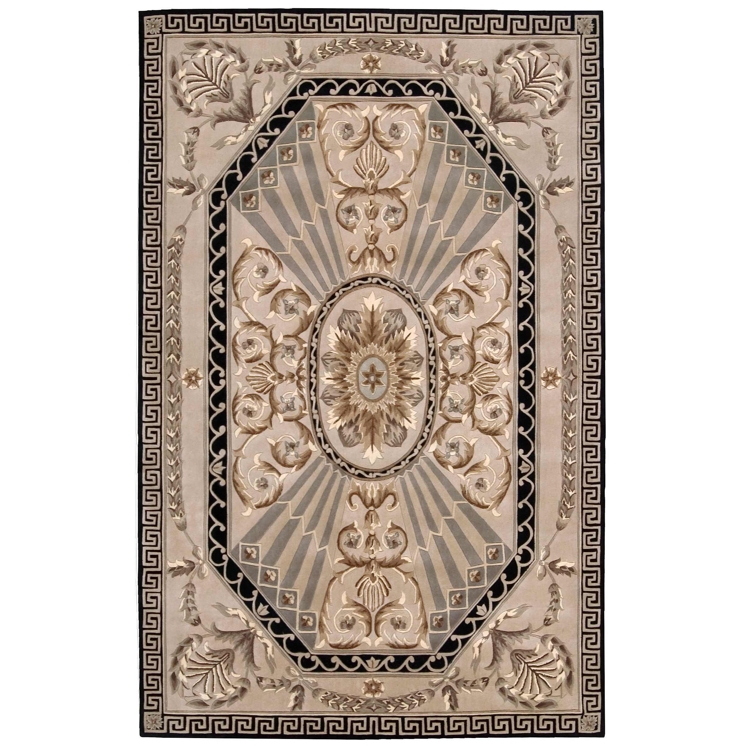 Versailles Palace Hand Tufted Beige Area Rug In 2020 Beige Area