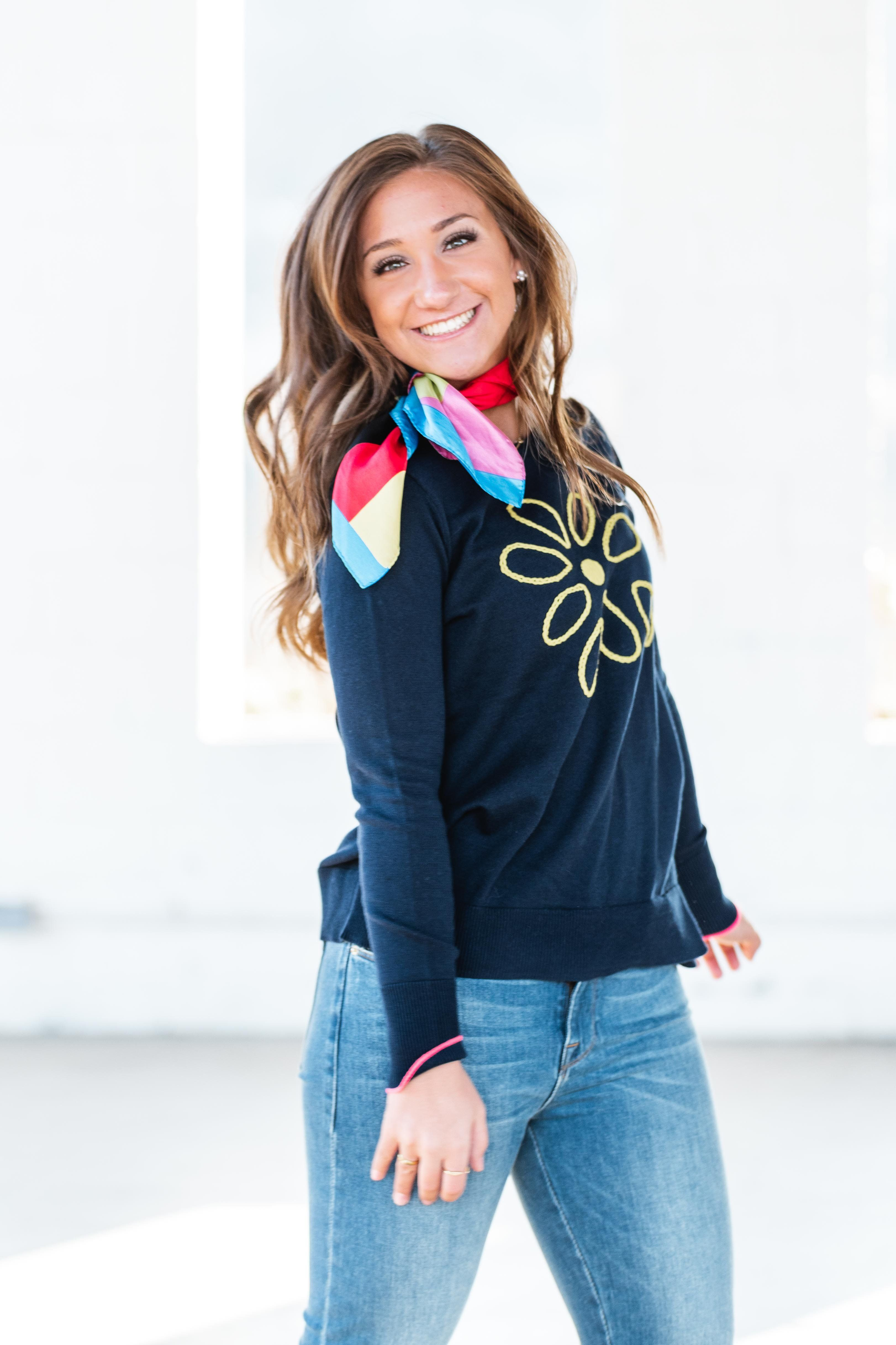 a08bb25d37962 Lisa todd love me navy sweater in 2019 | Products | Navy sweaters ...