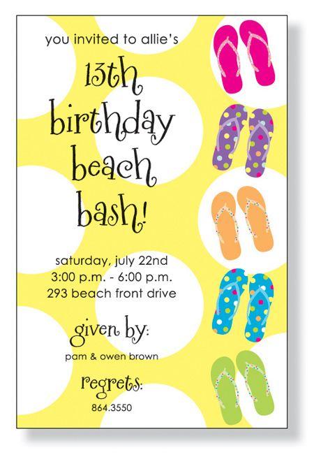 ddf71483efa1 Pool party invitation