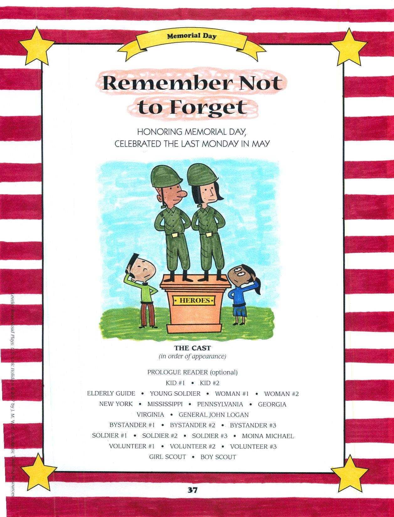 The History Of Memorial Day Is Examined In This Fluency