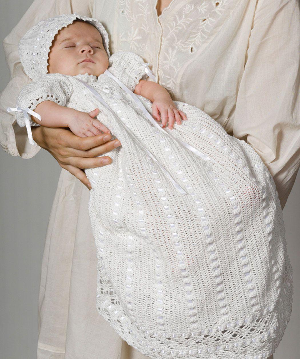 Pattern Correction Heirloom Baby Set | CROCHET FOR BABY! | Pinterest ...