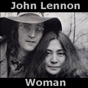 John Lennon - Woman chords acordes