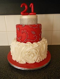18th birthday cake bling Google Search 18th birthdy cake Pinterest