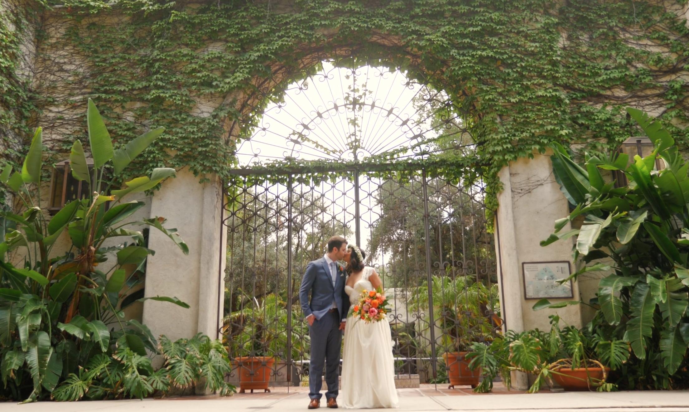 Los Angeles River Center Los Angeles Wedding Film Los