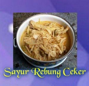 Sayur Rebung Ceker Ayam Indonesische Recepten Recepten Indonesisch