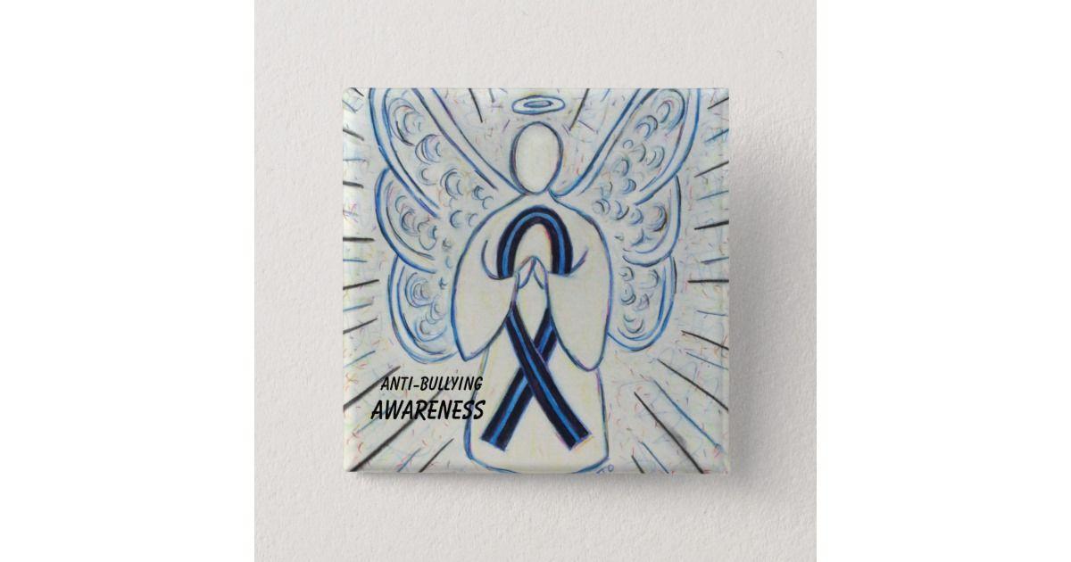Anti Bullying Awareness Angel Blue