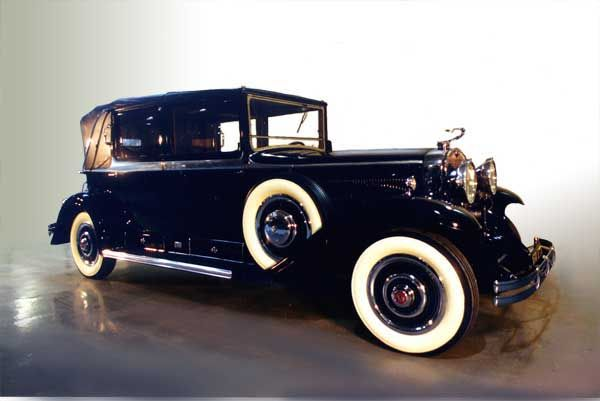 1930 Cadillac Kellner Bodied Open Front Town Car