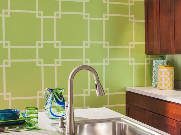 Gorgeous and Colorful Design Ideas Using Paint and Painters Tape ...