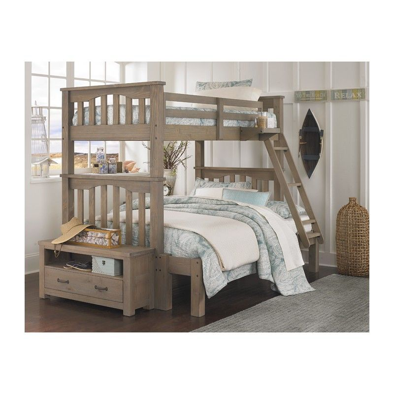 Best Highlands Bunk Bed In Driftwood With Images Twin Full 400 x 300