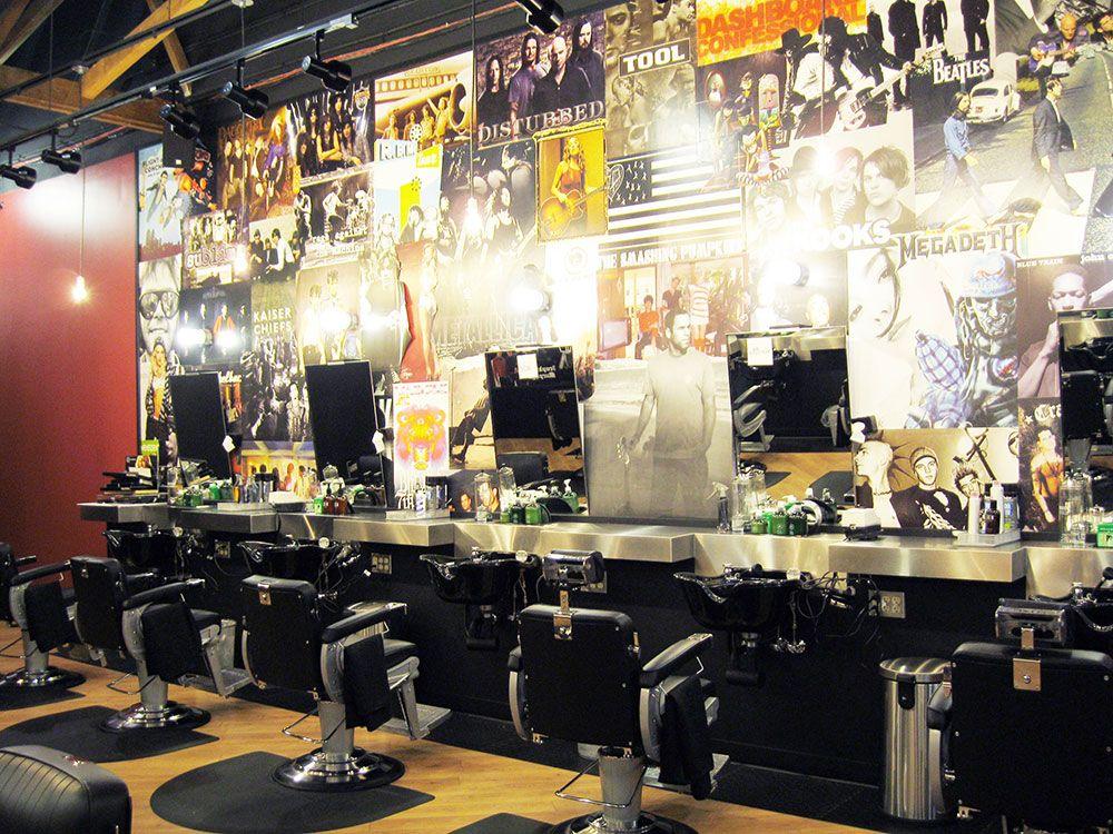 Floyd S Barbershop Barbershop Design Interior Barbershop Design Hairdressing Salon Design