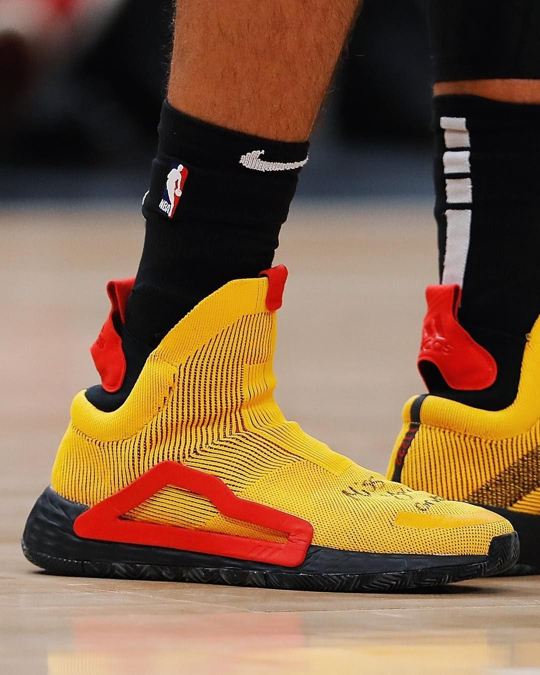 "ebe146b68eb5 Bleacher Report Kicks on Instagram  "" TraeYoung wearing the Adidas N3XT  L3V3L tonight against Washington. 👀"""