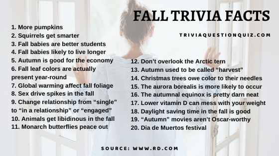 autumn facts fall facts World Changes in Autumn fall trivia autumn trivia autumn trivia questions fun fall trivia fall trivia 2020 fall trivia 2021 fall trivia for seniors trivia questions about fall fall themed trivia fall season trivia