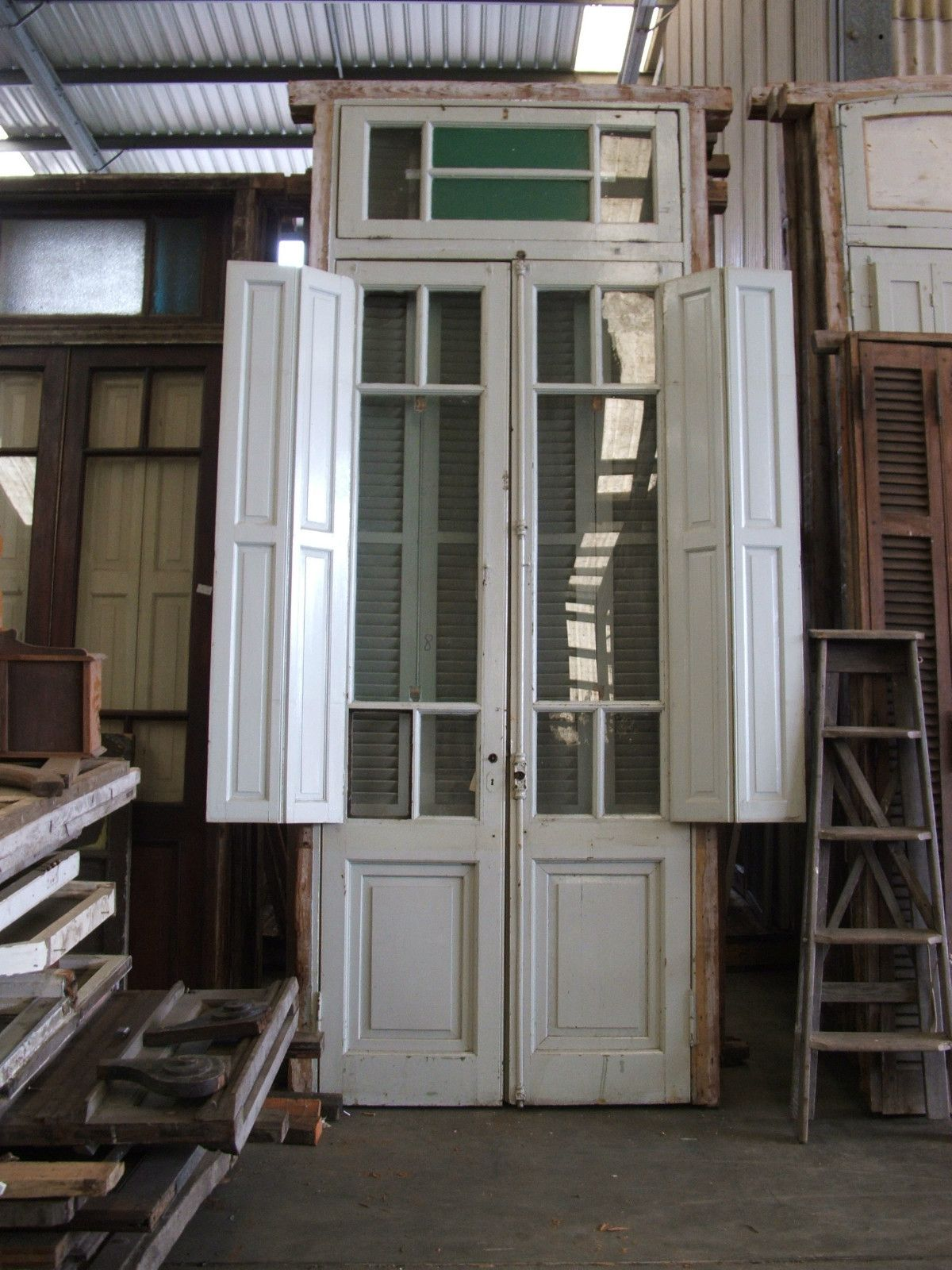 Antique Argentinian French Doors   eBay   Salvage yard.....   French on