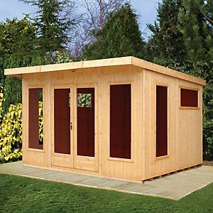 Shire Chequers Summerhouse 12x10 Pinterest