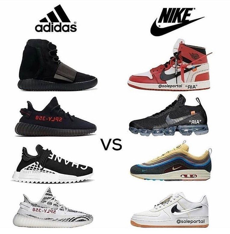 Temblar ranura amargo  Adidas vs Nike?🤔🔥 Which brand is better?🤨 - - - Follow @sickboosts for  more!🔥 - - - #adidas #nike #… | Mens nike shoes, Adidas shoes mens, Shoes  sneakers adidas