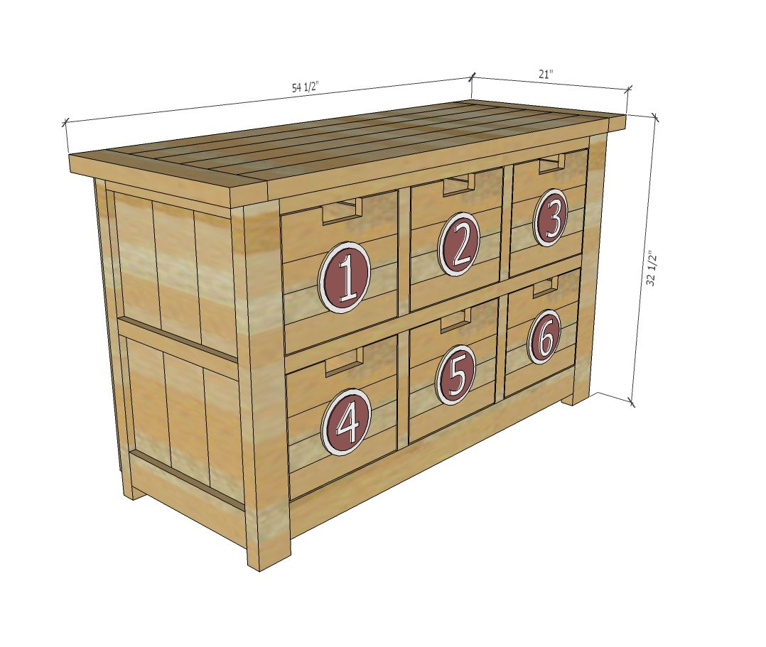 Best Dumpster Dresser From 2X4S Ana White Furniture Plans 400 x 300