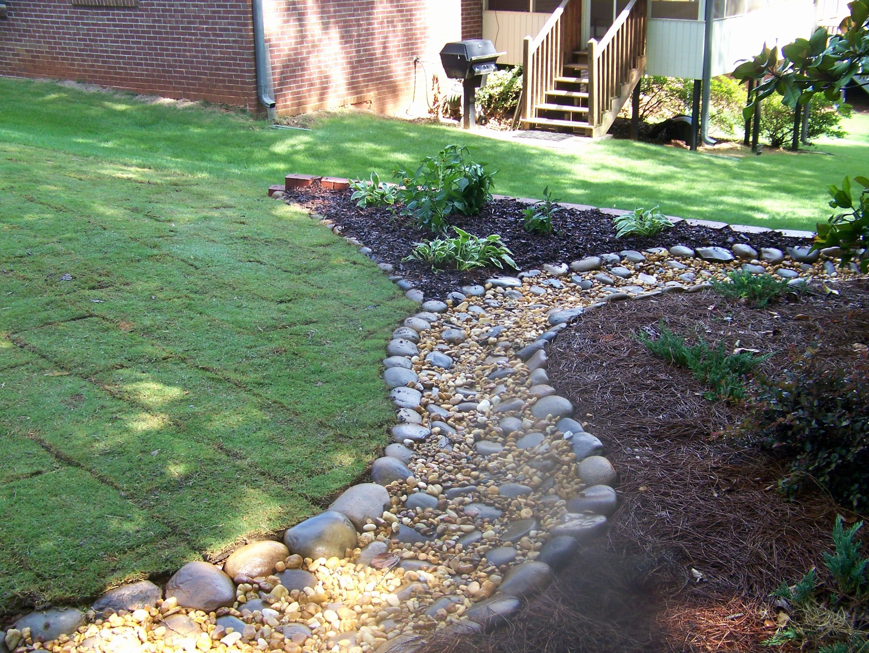 Amazing Garden Ideas With Rocks Garage Installation Hvac Contractors Cabinetry