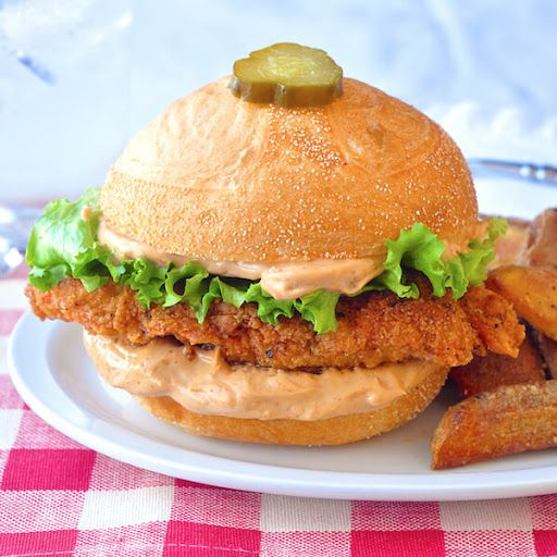 Copycat Big Mary Chicken Sandwich with Taters Recipe on Yummly