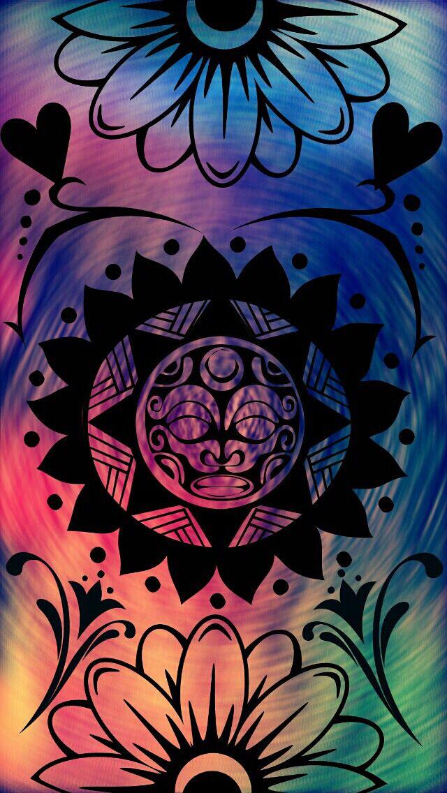 ☮American Hippie Art - Wallpaper | ☮ Art ~ Pattern Design | Hipster phone wallpaper, Hippie ...