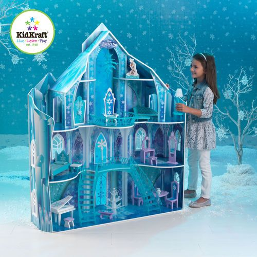 kidkraft disney frozen snowflake mansion dollhouse kid