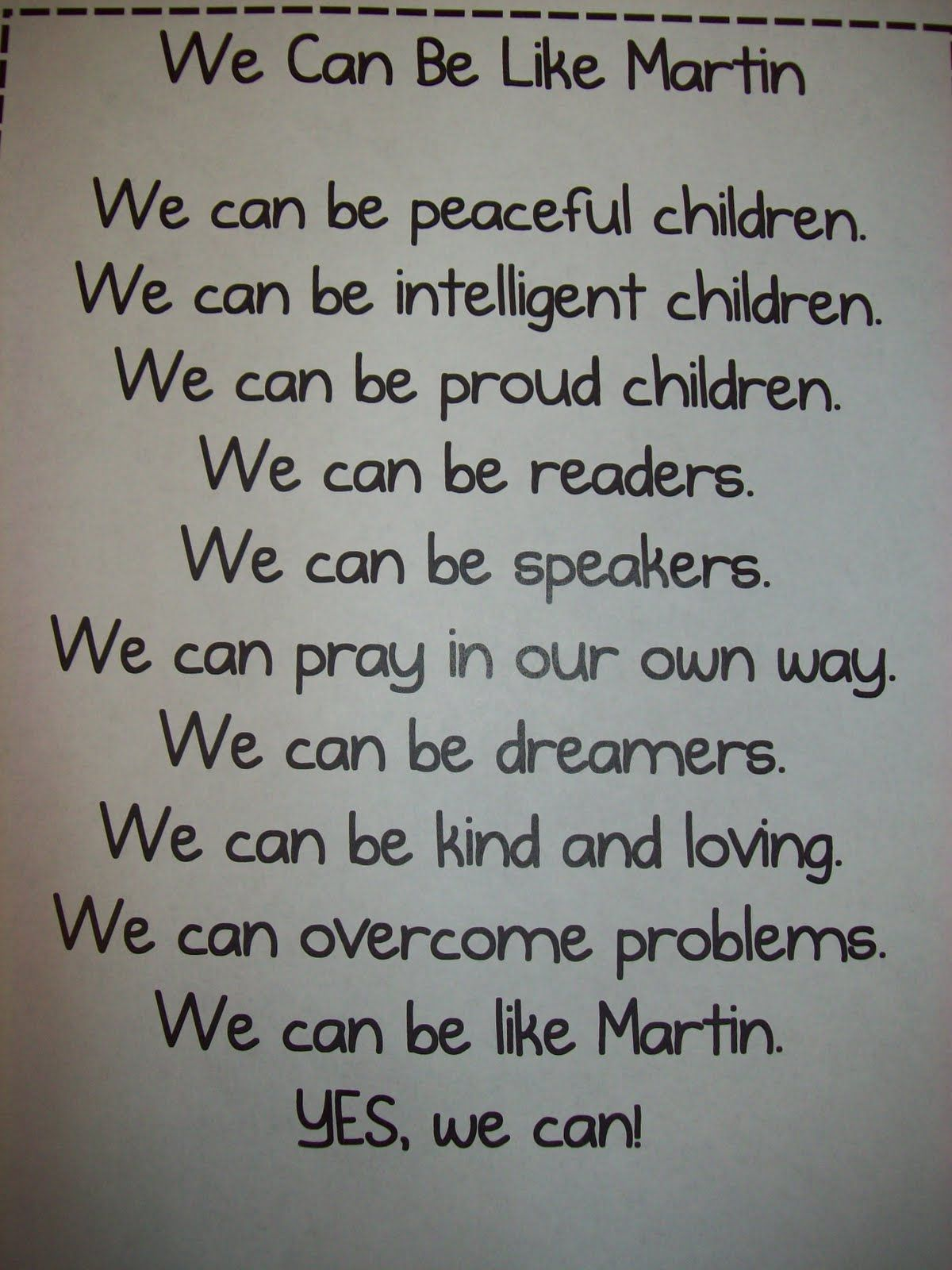 Chalk Talk A Kindergarten Blog A Few More Mlk Ideas