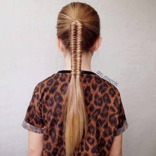 40 Cute and Cool Hairstyles for Teenage Girls | Pony hairstyles ...