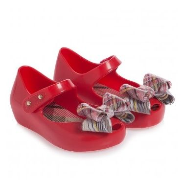 60d2ff54e421 Girls Red Vivienne Westwood Jelly Shoes - My Child World € 60