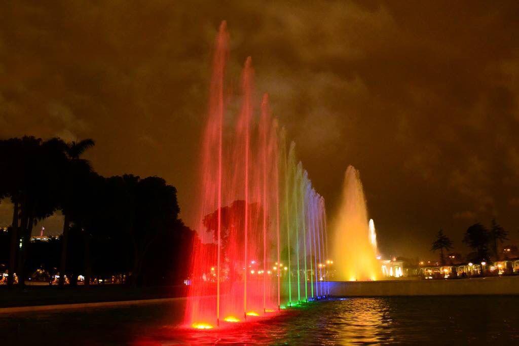 Lima-Parque de la Reserva - Circuito Mágico del Agua