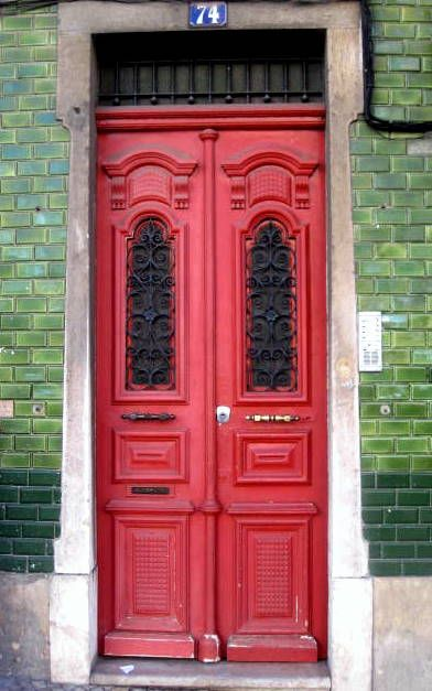 Red Door, Lisbon, Portugal