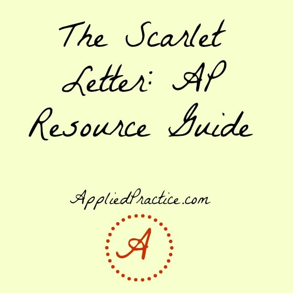 The scarlet letter ap resource guide apenglish appliedpractice the scarlet letter ap resource guide apenglish appliedpractice altavistaventures Gallery