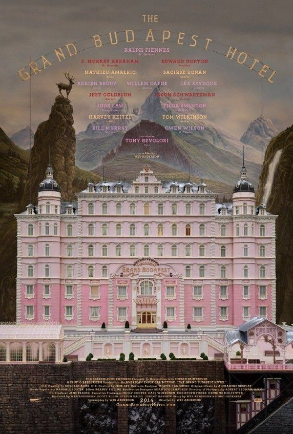 Wes Anderson - The Grand Budapest Hotel