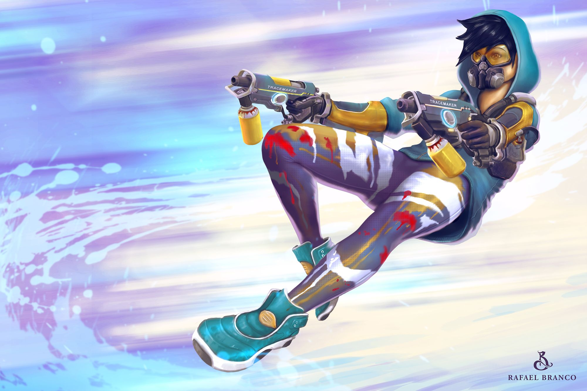 Overwatch Tracer Wallpapers Photo On Wallpaper 1080p Hd Overwatch Tracer Overwatch Overwatch Hero Concepts