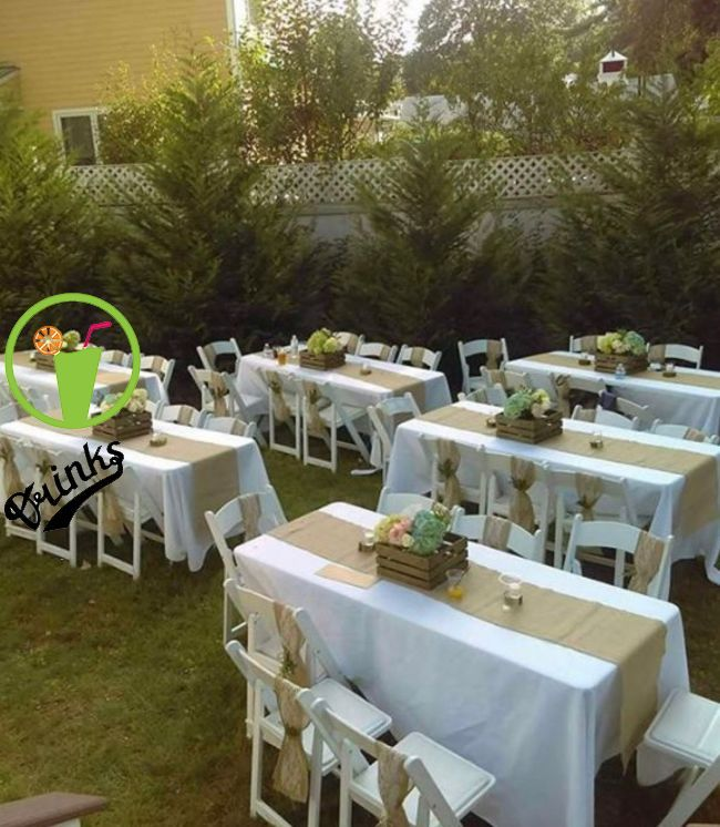 Like The Table Set Up For Grad Party Fabb Pinterest