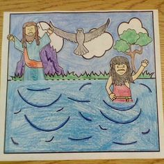 Free Baptism Of Jesus Paper Craft With Moving Parts Students Will