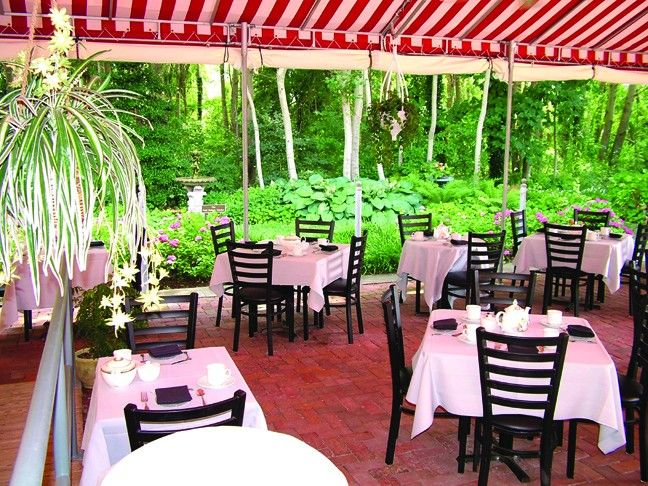 Carriage House Cafe at Physick Estate Cape May NJ ...