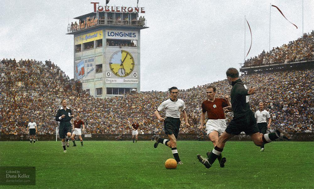Players Retro Trikot Deutschland 1954