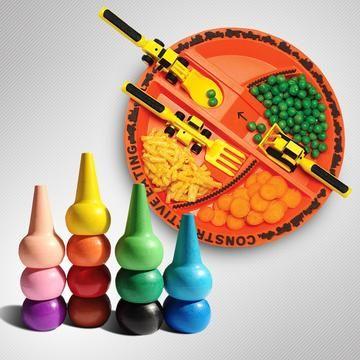 Развивайся с художественным вкусом бренды Constructive Eating, Playon Crayon