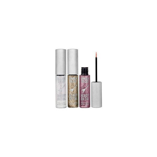 Urban Decay Heavy Metal Glitter Eyeliner Set ($51 Value) Heavy Metal... ($39) ❤ liked on Polyvore featuring beauty products, makeup, eye makeup, eyeliner, beauty, fillers, cosmetics, pink eyeliner, urban decay and urban decay eyeliner