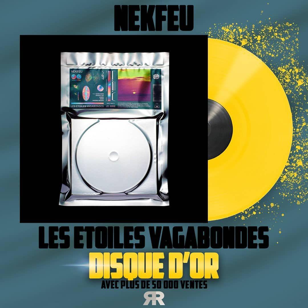 Lalbum Les étoiles Vagabondes De Nekfeu Est Certifié Disque