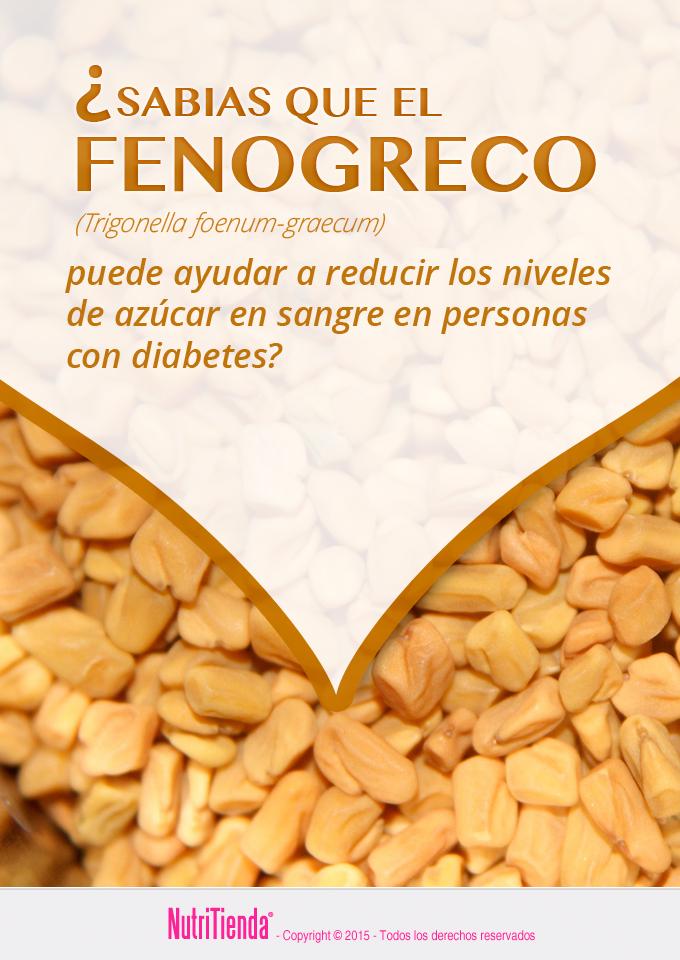 dosis de diabetes fenogreco