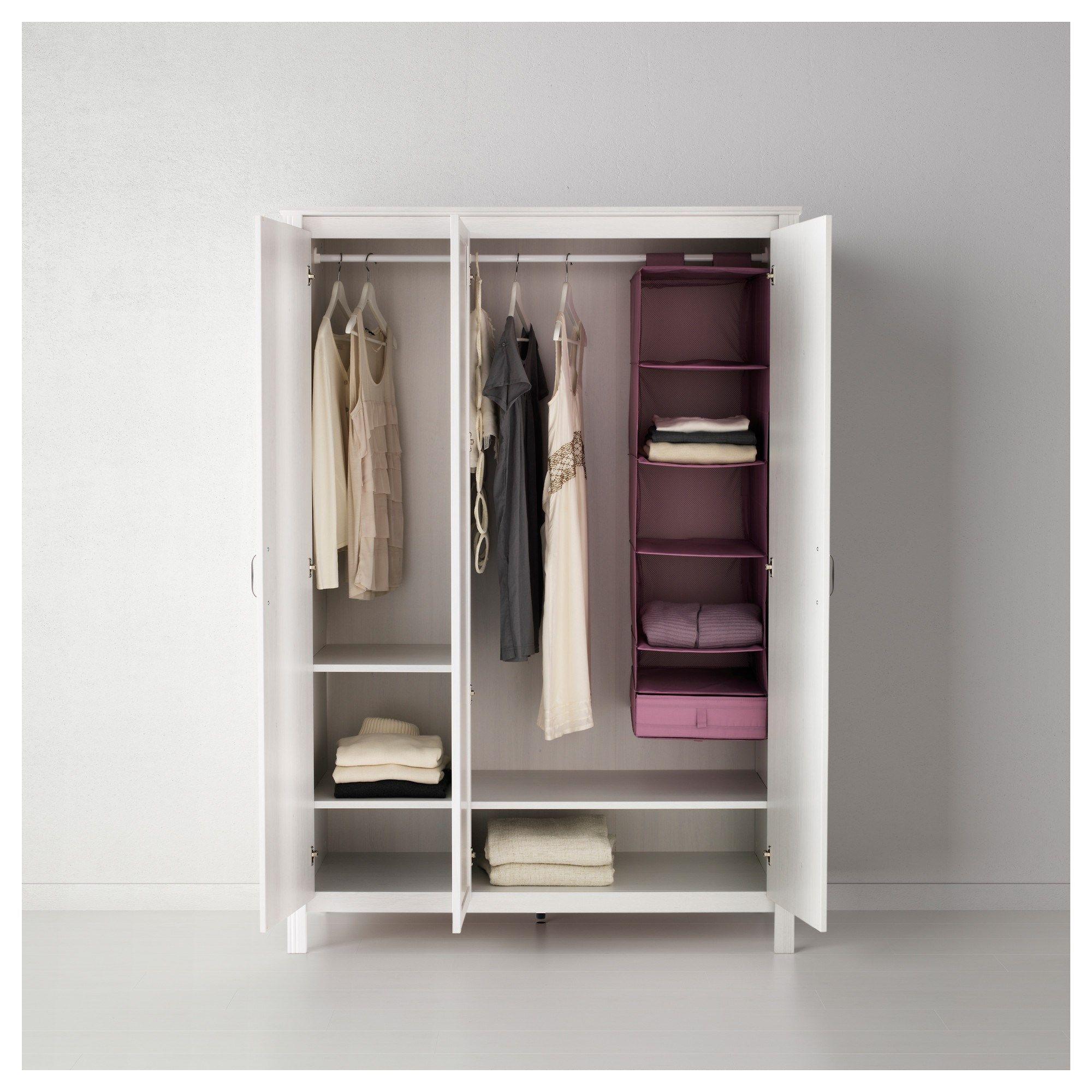 Brusali Gardirop Beyaz 131x190 Cm Ikea Brusali Kleiderschrank Kleiderschrank Ikea Kleiderschrank