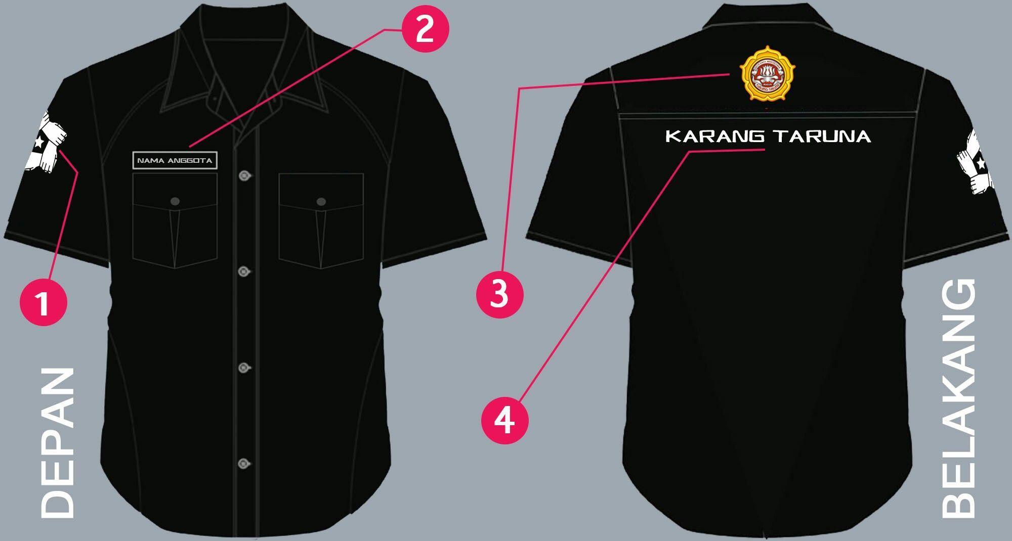 Desain Baju Karangtaruna Kaos Baju Kaos Gambar